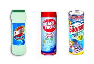 Порошковые чистящие средства