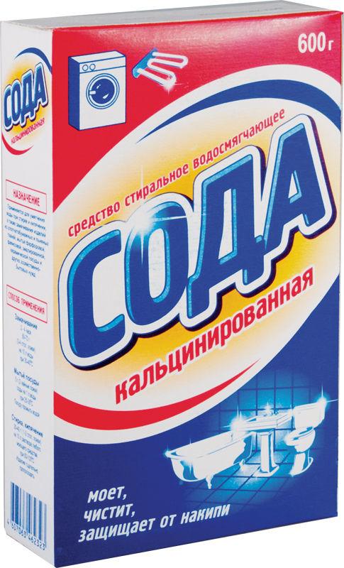 Кальцинированнная сода в быту