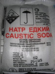 Едкий натр Каустическая сода Башкирская содовая компания